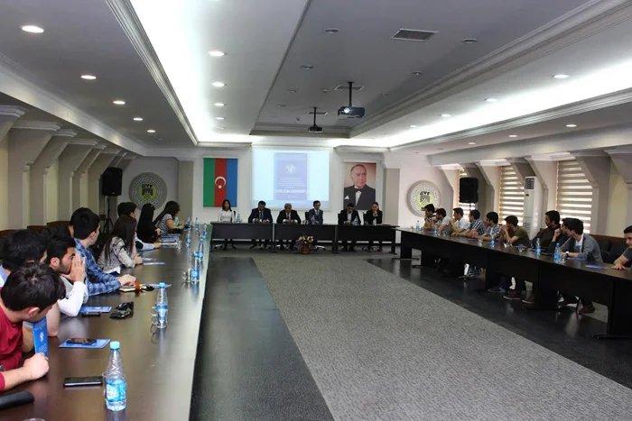 В Бакинском филиале МИМРД МПА СНГ продолжают принимать конкурсные работы