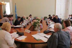 Проходит заседание Постоянной комиссии МПА СНГ по правовым вопросам
