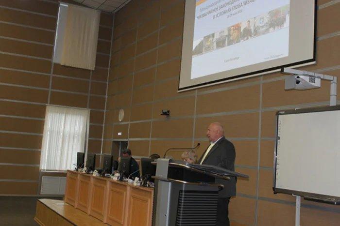 Представитель Секретариата Совета МПА СНГ участвовал в международной научно-практической конференции