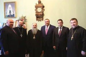 Представители МПА СНГ встретились с Митрополитом Санкт-Петербургским и Ладожским Варсонофием