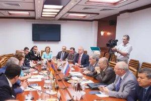 Встреча вице-спикеров Республики Армения и Российской Федерации прошла в Совете Федерации Федерального Собрания