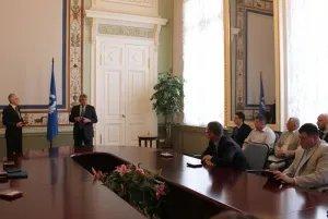 В преддверии Дня России в Таврическом дворце вручали награды