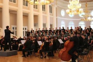 Симфония №9 Людвига ван Бетховена прозвучала в Таврическом дворце