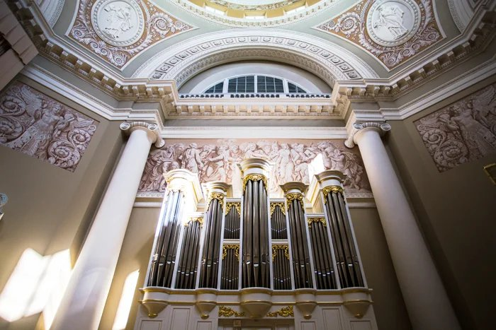 В Купольном зале Таврического дворца прошел вечер органной музыки