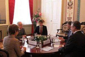Алексей Сергеев провел встречу с Филиппо Ломбарди
