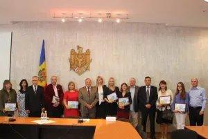В Республике Молдова наградили лучших парламентских журналистов