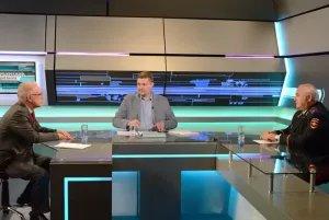 Алексей Сергеев и Сергей Бугров в прямом эфире «Петербургского дневника»