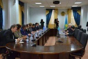 Наблюдатели от МПА СНГ встретились с руководством ЦИК Республики Казахстан