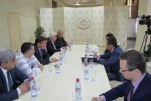 Международные наблюдатели от МПА СНГ встретились с Председателем городской избирательной комиссии Алматы