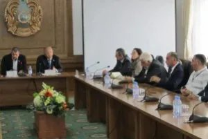 Прошла встреча наблюдателей от МПА СНГ с депутатами маслихата Алматы