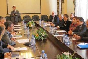 Наблюдатели от МПА СНГ встретились с руководством алматинского филиала партии «Нур Отан»