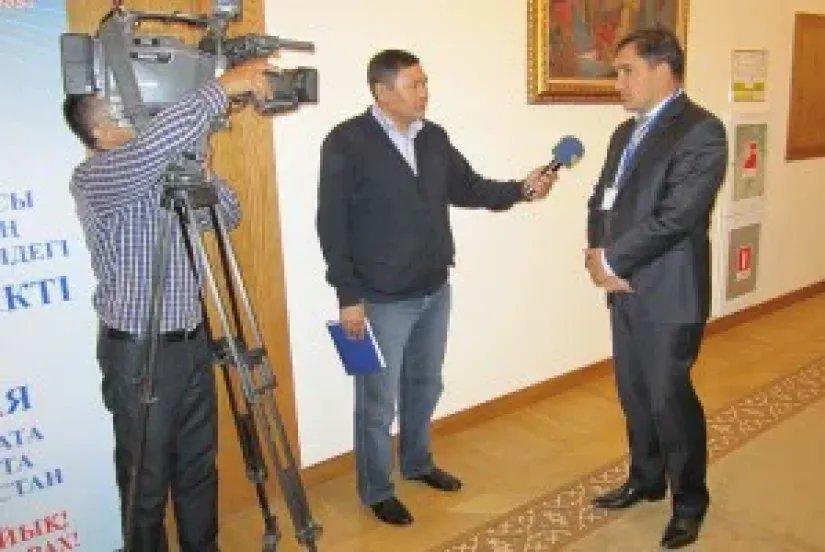 Работа международных наблюдателей в Алматы и Алматинской области вызвала большой интерес представителей СМИ