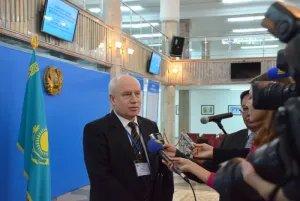 Сергей Лебедев отметил интерес наблюдателей к выборам в Сенат Парламента Республики Казахстан