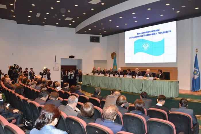 Прошла пресс-конференция Миссии наблюдателей СНГ