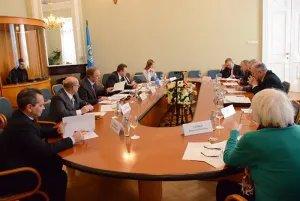 Прошло первое заседание Экспертного совета при Постоянной комиссии МПА СНГ по правовым вопросам