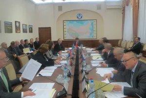 В Москве состоялось заседание Комиссии по экономическим вопросам при Экономическом совете СНГ