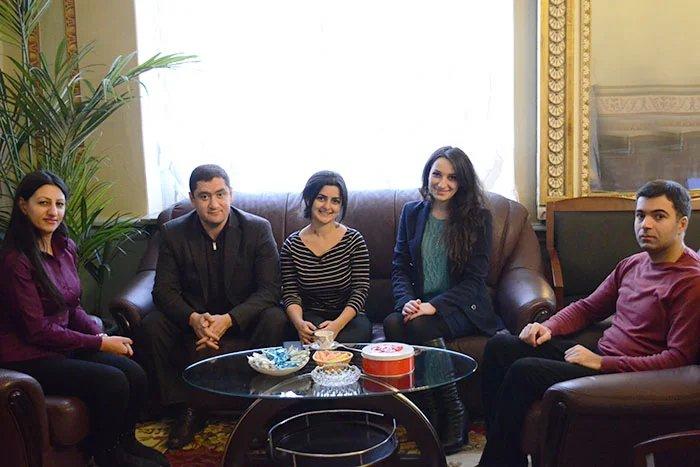Молодые исследователи парламентаризма из Республики Армения  примут участие в работе Молодежного межпарламентского форума СНГ