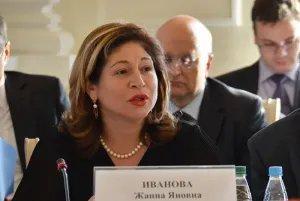 Жанна Иванова участвует в работе конференции, посвященной избирательным процессам в Содружестве