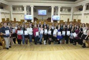 В Таврическом дворце наградили волонтеров конгресса «Безопасность на дорогах ради безопасности жизни»