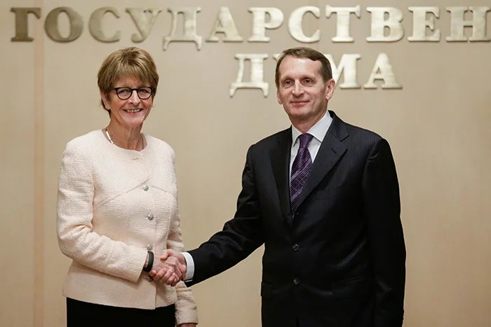 Сергей Нарышкин встретился с Анн Брассер