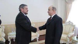 Председатель Маджлиси намояндагон Республики Таджикистан встретился с послом Республики Молдова в Душанбе