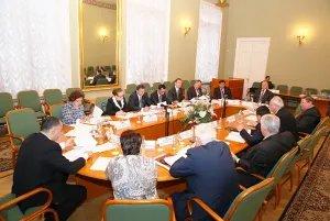 Заседание Постоянной комиссии МПА СНГ по политическим вопросам и международному сотрудничеству проходит в Таврическом дворце