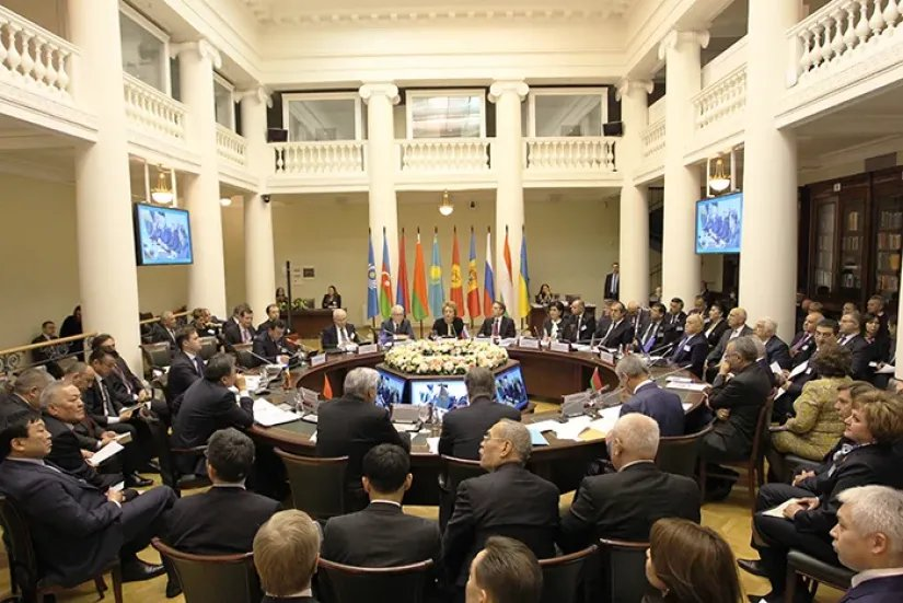 Состоялось заседание Совета МПА СНГ
