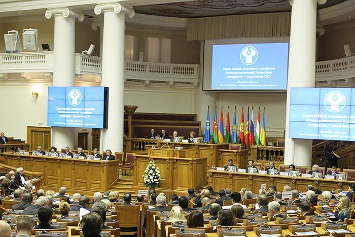 Сорок первое пленарное заседание МПА СНГ прошло в Петербурге