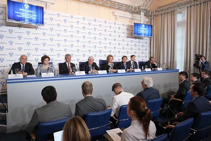 Спикеры и представители национальных парламентов государств-участников МПА СНГ подвели итоги работы за текущий год