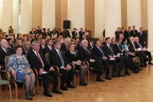 Концертом мастеров искусств Республики Казахстан завершились мероприятия осенней сессии МПА СНГ