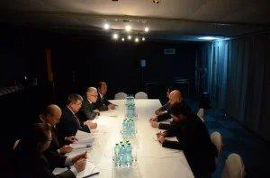 Члены Миссии наблюдателей от МПА СНГ встретились  с коллегами из международных организаций