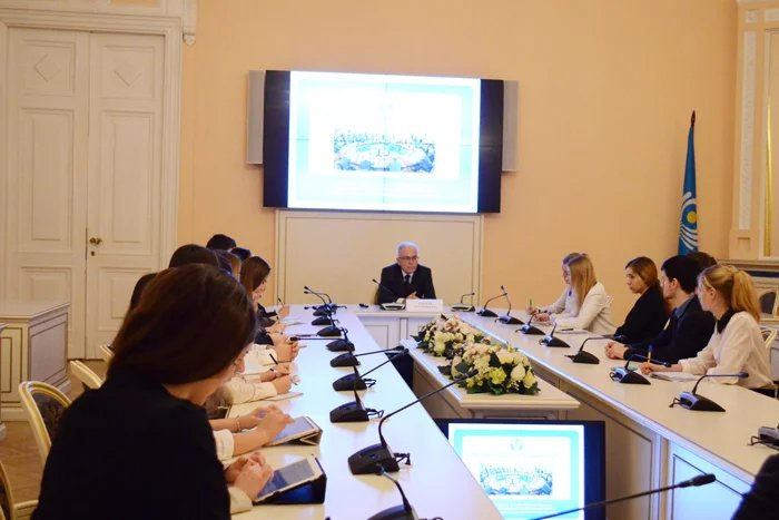 Алексей Сергеев встретился со студентами Санкт-Петербургского государственного университета