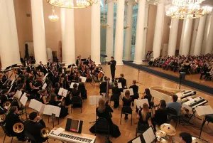Концерт, посвященный пятилетию создания Капеллы «Таврическая» прошел в минувшие выходные в штаб-квартире МПА СНГ