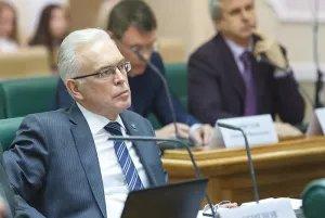 Алексей Сергеев выступил на заседании Совета палаты Совета Федерации Федерального Собрания Российской Федерации