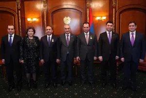 В Республике Армения вручили высшую награду МПА СНГ