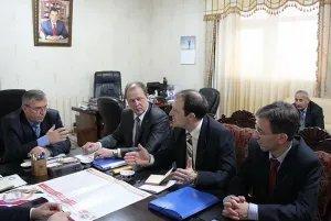 Наблюдатели от МПА СНГ встретились в Душанбе с руководством Народно-демократической партии Таджикистана