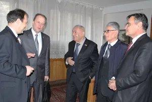 Прошла встреча группы наблюдателей от МПА СНГ на парламентских выборах с лидерами коммунистов Таджикистана