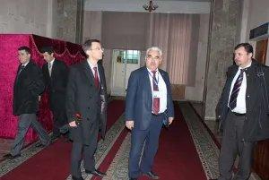 С деятельностью окружной и участковой комиссий в Душанбе ознакомились наблюдатели от МПА СНГ