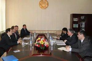 Наблюдатели от МПА СНГ на парламентских выборах в Таджикистане встретились с Председателем ЦКВР Республики Таджикистан