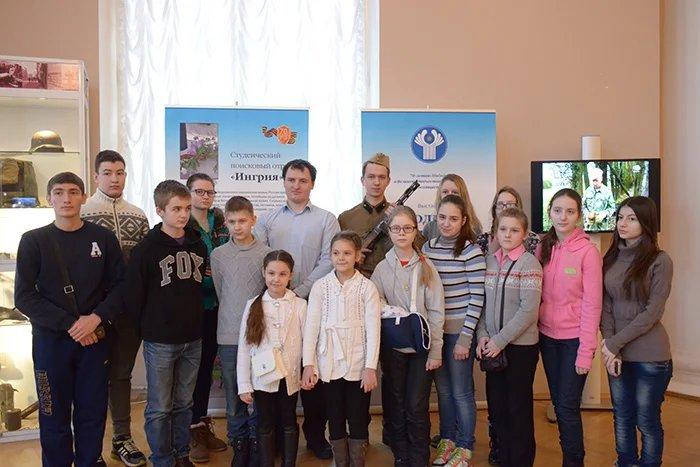 Маленькие пациенты института Г.И. Турнера посетили штаб-квартиру МПА СНГ
