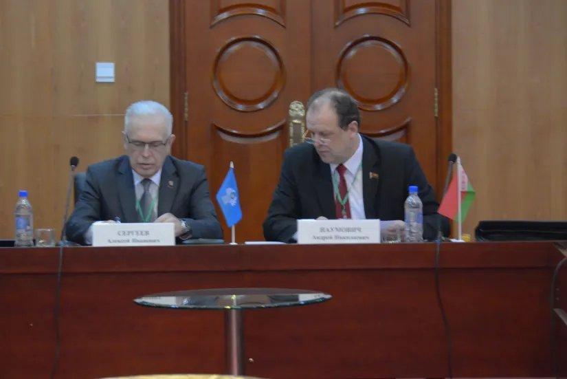 Наблюдатели от МПА СНГ определили план работы в период краткосрочного мониторинга выборов депутатов в Маджлиси намояндагон Маджлиси Оли Республики Таджикистан