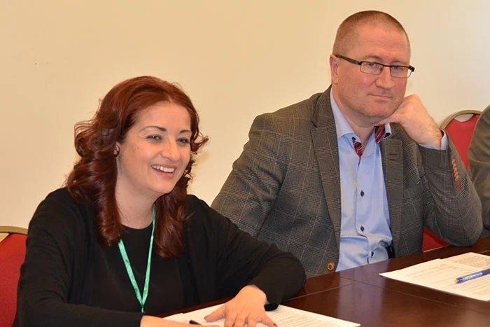 Прошла встреча со Специальным координатором ОБСЕ  Мариеттой Тидей, главой миссии ПА ОБСЕ Гейром Беккеволдом и руководиелем делегации Европейского парламента Норбертом Нойзером