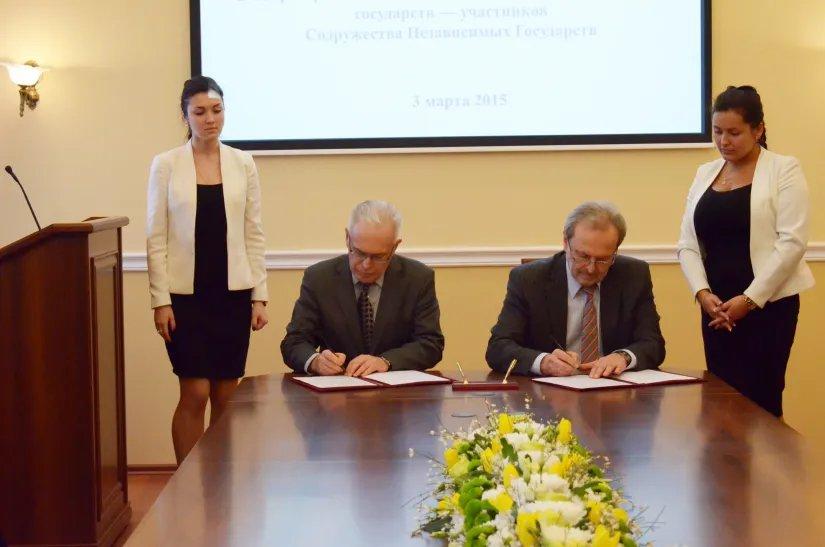 Подписано соглашение между  Секретариатом Совета МПА СНГ и СПбГИКиТ
