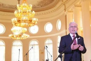 В Таврическом дворце поздравили сотрудников Секретариата