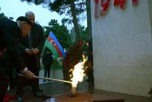 Акция  «Эстафета Памяти» проходит в Баку