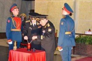 Частицу вечного огня из Баку торжественно передали на хранение