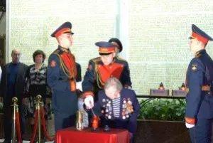 Частица Вечного огня из Кишинева была доставлена в Санкт-Петербург