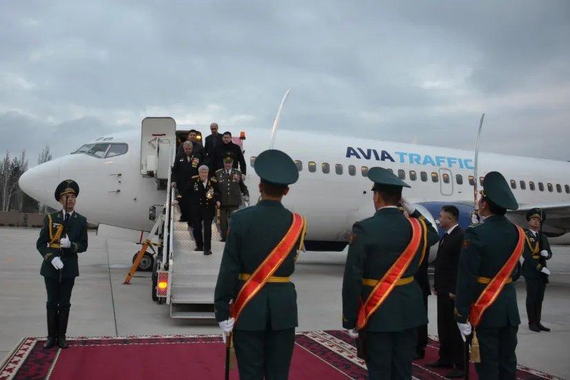 Участники «Эстафеты Памяти» прибывают в Бишкек