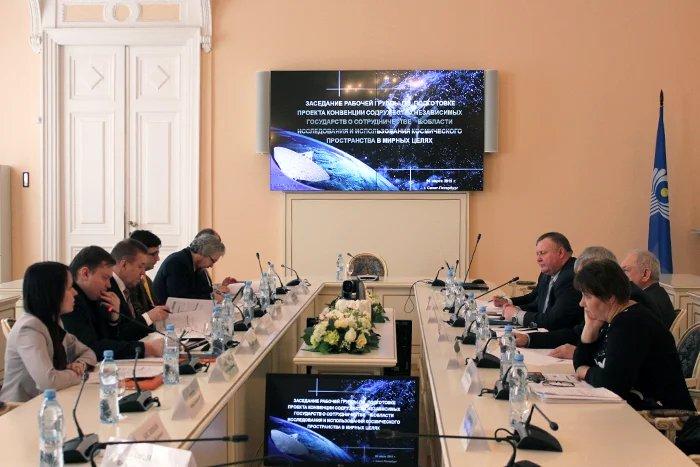 В Таврическом дворце работают над проектом о сотрудничестве в космической сфере
