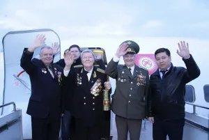Частица Вечного огня из Бишкека в Санкт-Петербурге